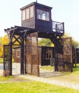 Porten til KZ-lejren Stutthof
